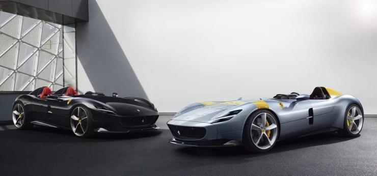 Ferrari Monza SP1 e SP2 — Foto: Ferrari/Divulgação