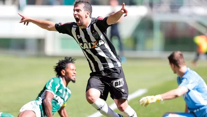 Leandro Donizete Atlético-MG Palmeiras (Foto: Leandro Martins / Agência Estado)