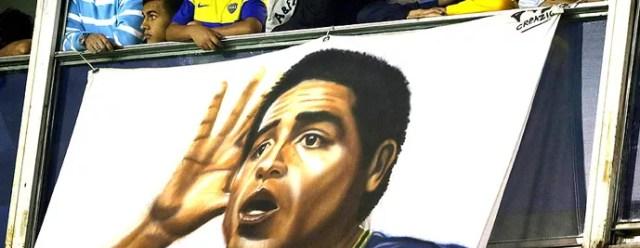 Riquelme camarote jogo Corinthians Boca Juniors (Foto: EFE)