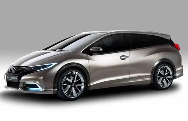 Honda apresenta perua derivada do Civic em Genebra (Foto: Divulgação)