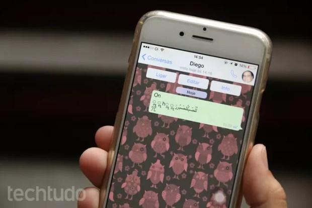 Novo bug no iOS desliga o iPhone ao receber mensagem pelo WhatsApp.