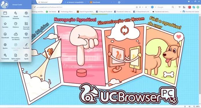 Navegador tem interface Chromium e compatibilidade com extensões do Google Chrome (Foto: Reprodução/Barbara Mannara)