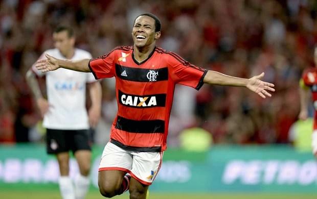 Elias gol Flamengo contra Atlético-PR final Copa do Brasil (Foto: André Durão / Globoesporte.com)