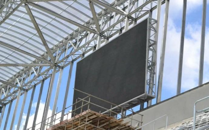 Serão dois telões na Arena da Baixada (Foto: Divulgação/Site Oficial do Atlético-PR)