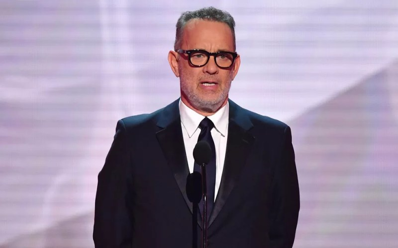 O ator Tom Hanks durante o 25th Annual Screen Actors Guild Awards, em Los Angeles, no dia 27 de janeiro de 2019 — Foto: Frederic J. Brown/AFP