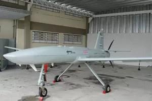 Produzido pela Avibras, drone Falção é uma das opções do Exército (Foto: Avibras/Divulgação)