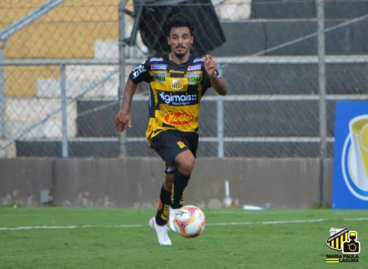 Danielzinho, meia do Novorizontino, tem quatro gols no Paulistão — Foto: Maria Paula Laguna/Novorizontino