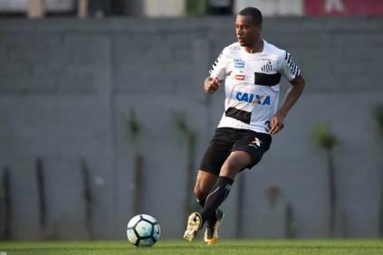Copete estaria na mira de Atlético-MG, Flamengo e São Paulo (Foto: Ivan Storti/Santos FC)