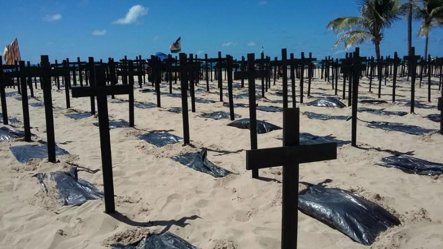 Foram 105 mortes relacionadas ao tráfico de drogas (Foto: Danilo César/TV Globo)