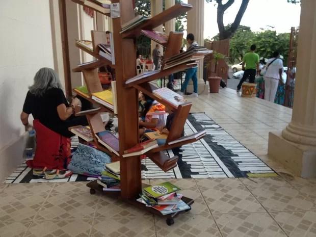 projeto, leitura, incentivo, oab, Macapá, Amapá (Foto: Jéssica Alves/G1)