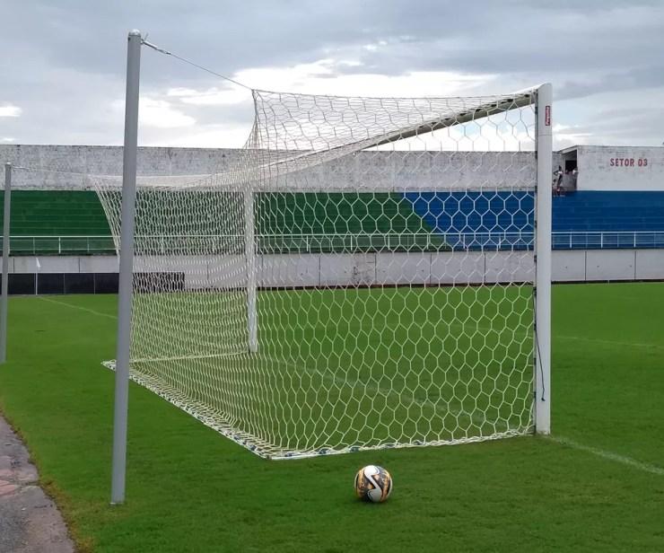 Todos os jogos do estadual de futebol sub-17 serão disputados no estádio Florestão, em Rio Branco (AC) — Foto: Duaine Rodrigues