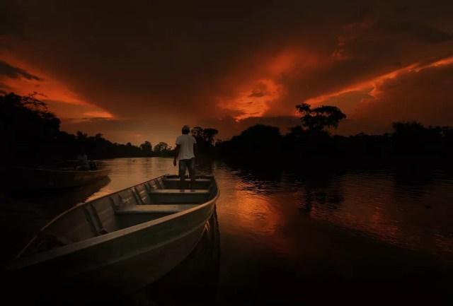Terra indígena Rio Branco em Alta Floresta D'Oeste (RO) — Foto: Carlos Tuyama/Arquivo pessoal