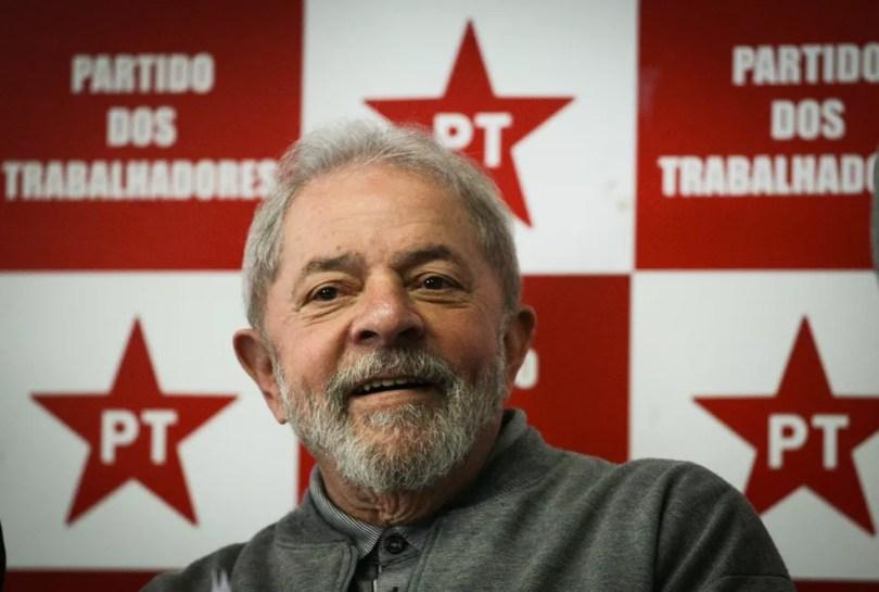 O ex-presidente Luiz Inácio Lula da Silva, candidato do PT à Presidência neste ano (Foto: Aloisio Mauricio/Fotoarena/Estadão Conteúdo)