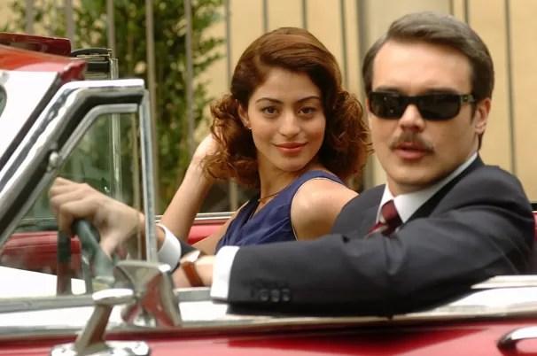 Você vai rever Clóvis (Dalton Vigh) e Ruth (Carol Castro) a partir do dia 25 de fevereiro (Foto: Rafael França/Rede Globo)