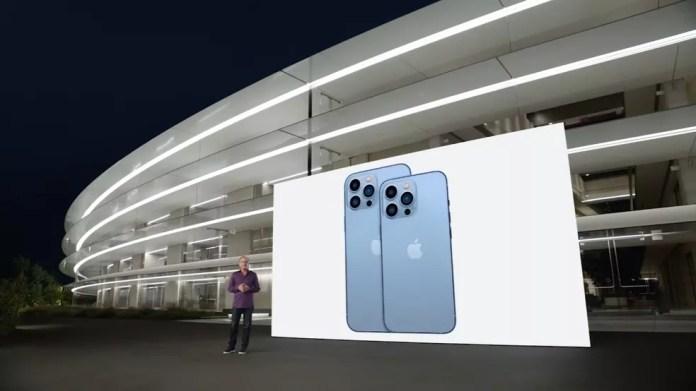 iPhone 13 Pro e iPhone 13 Pro Max — Foto: Reprodução/YouTube