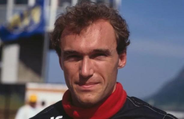 Philippe Streiff correu na Tyrrell de 1985 a 1987 — Foto: Getty Images