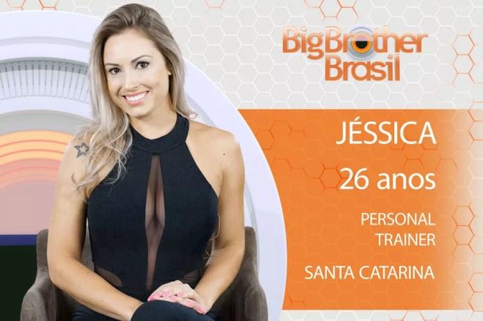 Jéssica é participante do 'BBB18' (Foto: Divulgação)