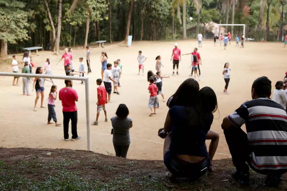 A Rua é Sua no Parque Chico Mendes, em Guarulhos (Foto: Fernando Pilatos/Globo)