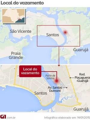 Mapa (Foto: G1)
