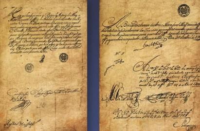 Primeiro documento do Tocantins, de 1745 (Foto: Divulgação)