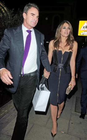 Image result for MARK REYNOLDS and liz hurley