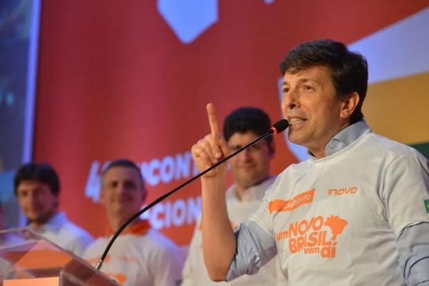 João Amoêdo, Partido Novo — Foto: Agência Brasil