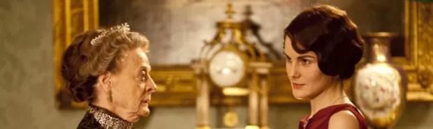 Maggie Smith e Michelle Dockery em 'Downton Abbey' (Foto: Divulgação)