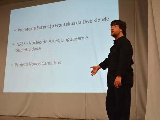 gabriel sindrome de down ufpel pelotas (Foto: Divulgação/UFPel)