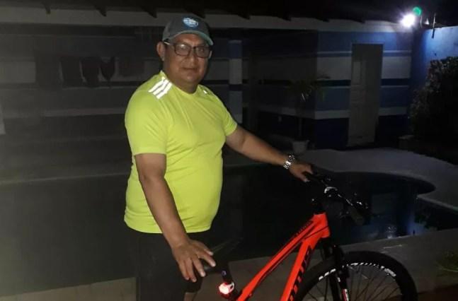 Comerciante Geraldo Sávio, de 49 anos, foi a primeira vítima de Covid-19 no Amazonas — Foto: Reprodução