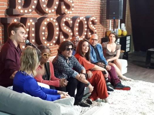 Elenco do 'Show dos Famosos' apresenta a segunda temporada do quadro (Foto: Rafael Pereira/TV Globo)