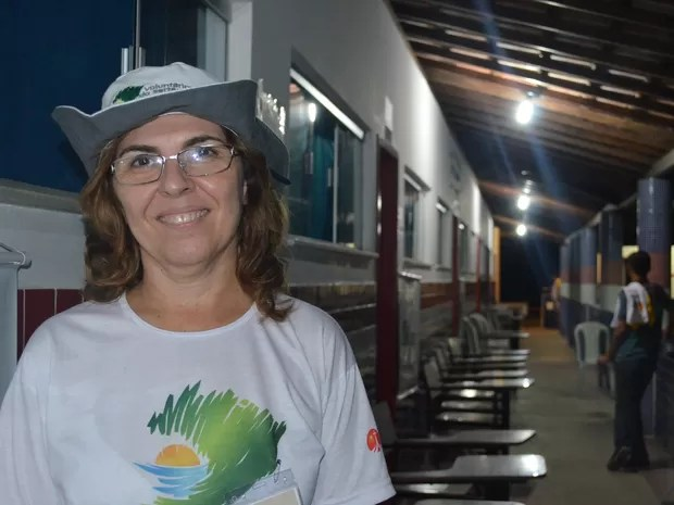 """Sandra Ferro Cerci, enfermeira participante do projeto """"Voluntários do Sertão"""" (Foto: Rodolfo Tiengo/G1)"""