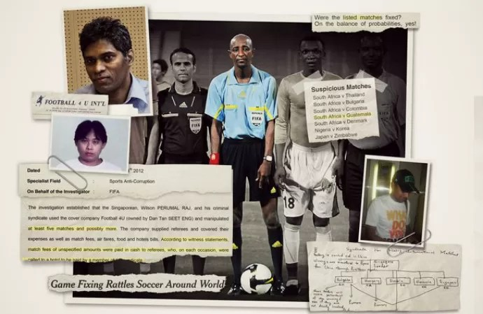 New York Times reportagem manipulação de resultados África do Sul Fifa (Foto: Reprodução New York Times)
