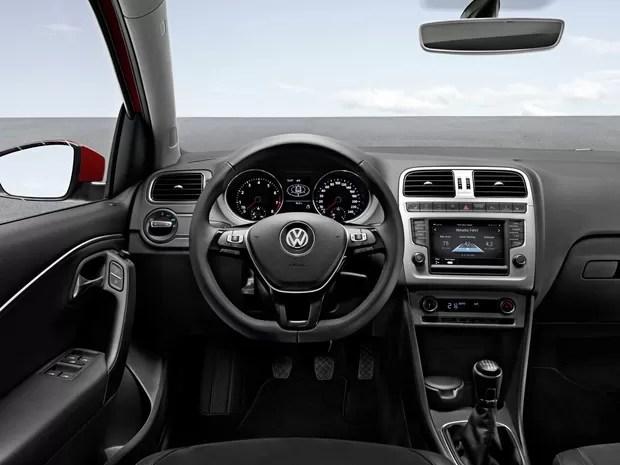 Novo Gol 2016 interior do carro