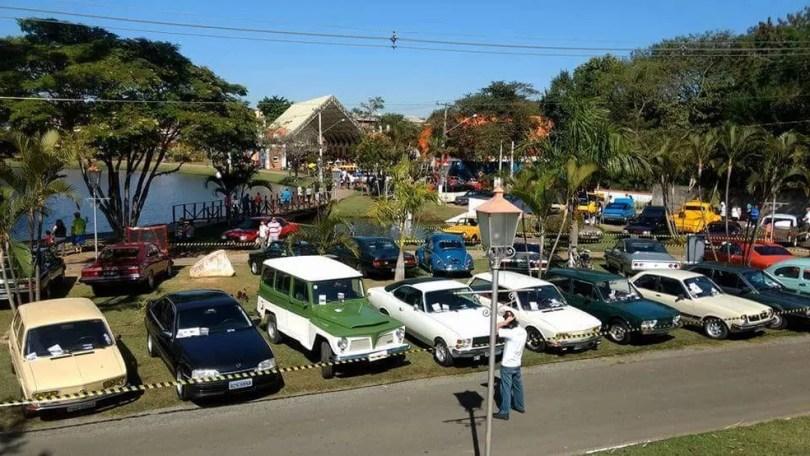 Exposição de carros antigos em Holambra ocorre neste domingo (15), das 8h às 16h (Foto: Marcos Zucherato)