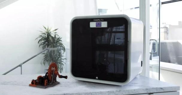 CuboPro, Impressora 3D da 3D Systems. (Foto: Divulgação/3D Systems)