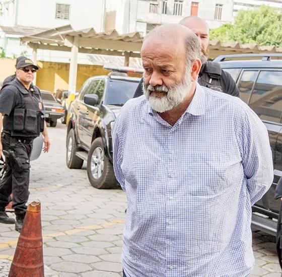 COLEGA O ex-tesoureiro do PT João Vaccari. Ele também é considerado um personagem que liga o esquema de corrupção na Petrobras ao da Eletronuclear (Foto: Paulo Lisboa/Folhapress)