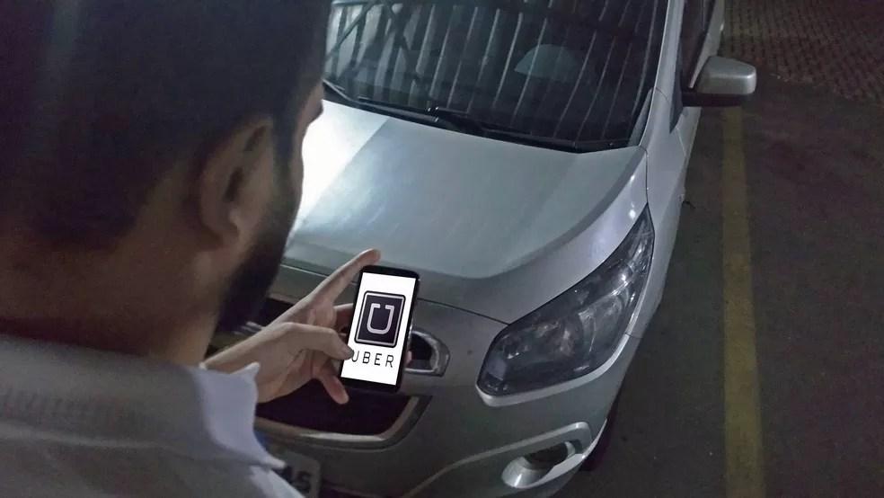 Usuários do Uber tiveram dados expostos (Foto: Toni Francis/G1)