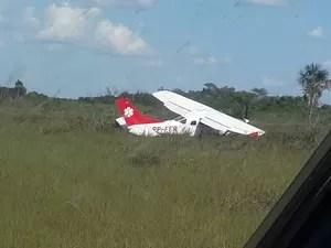 Avião Cessna, U206G, matrícula PP-FFR, foi encontrado na tarde desta quinta-feira (30) (Foto: Divulgação/FAB)