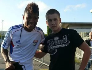 Meia da base do Inter, Fernando Baiano esteve cinco meses no Lyon (Foto: Arquivo Pessoal)