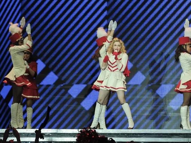 Madonna faz em SP o primeiro de dois shows da turnê 'MDNA' (Foto: Flavio Moraes/G1)