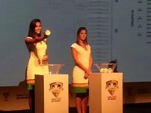 sorteio copa do brasil (Foto: Vicente Seda)