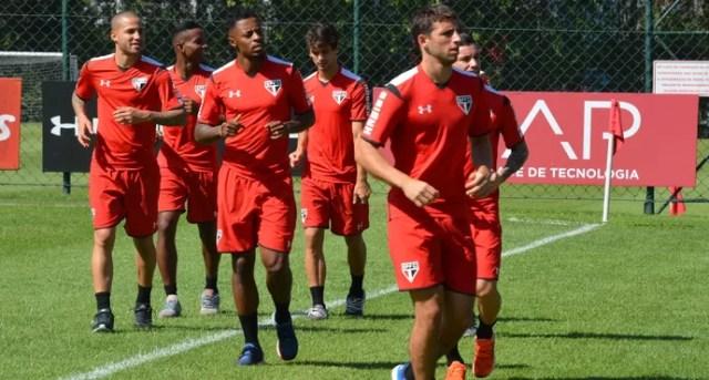 Treino São Paulo reapresentação (Foto: Erico Leonan / site oficial do São Paulo FC)