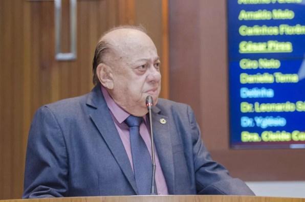 Deputado estadual no Maranhão, Zé Gentil faleceu após vários internado e com complicações provocadas pela Covid-19 — Foto: Divulgação/Assembleia Legislativa do Maranhão