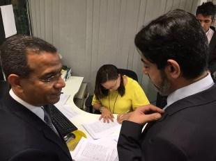 Juízes acionam Conselho de Ética do Senado contra Renan Calheiros (Foto: Gustavo Garcia/G1)