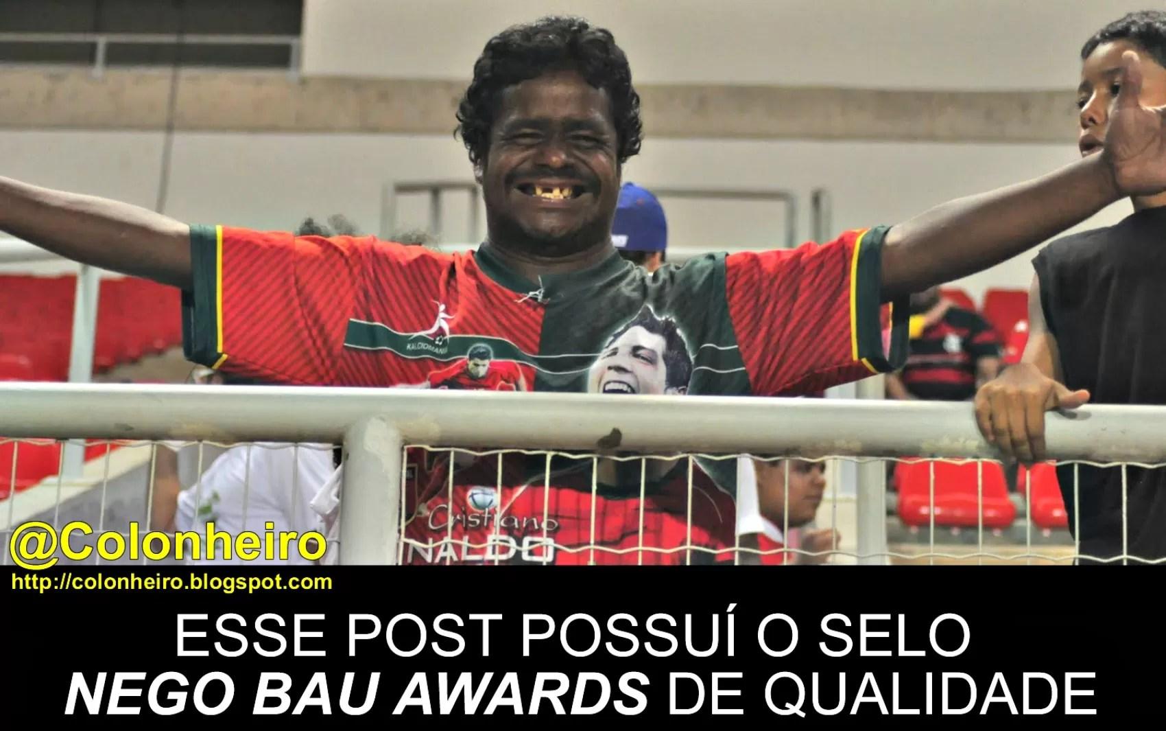 Nêgo Bau já virou meme em vários sistes de humor locais  (Foto: Divulgação)