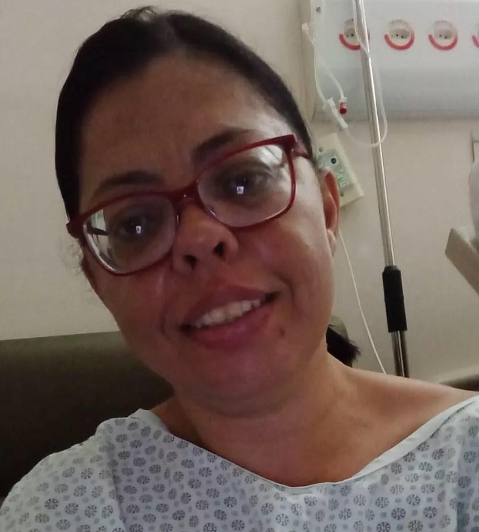 Andreia Alves Silva procurou atendimento médico várias vezes em Sorocaba (SP) — Foto: Arquivo pessoal