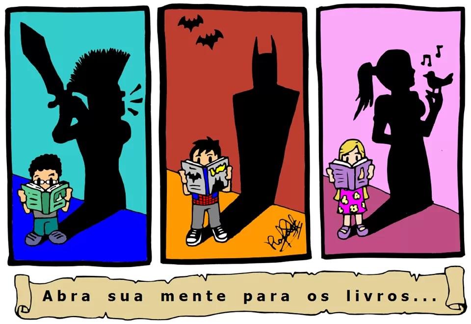 Leia, seja quem quiser, vá aonde quiser! - Tirinha produzida pelo artista brasileiro Zinhow Rafael. Clique aqui para conhecer a página do artista no Facebook! (Foto: Reprodução)