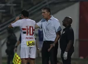 Bauza Ganso Trujillanos Libertadores São Paulo (Foto: Rubens Chiri / saopaulofc.net)