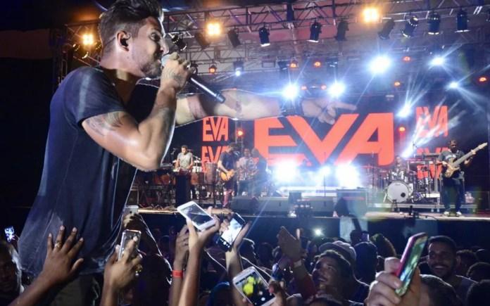 Banda Eva é atração no Lovina (Foto: André Carvalho/Ag Haack)