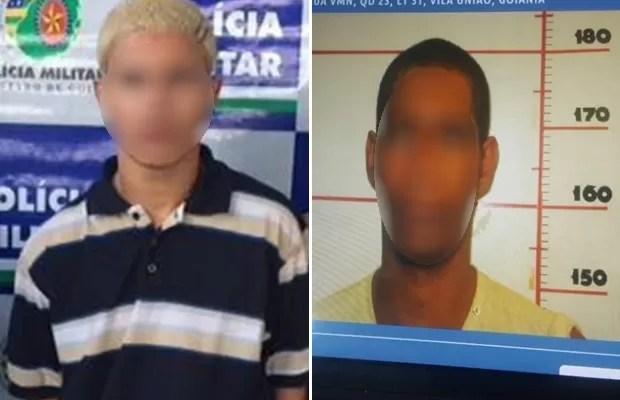 Irmãos se reencontram na cadeia após 14 anos sem se verem, em Goiânia, Goiás (Foto: Divulgação/PM)
